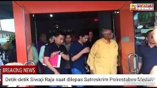 Detik-detik Siwaji Raja dilepas dan ditangkap kembali, ini kata Kapolrestabes Medan