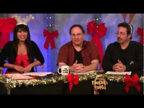 MEDIA ZONE 12-25-2012 Pt 1 Christmas Show  DJANGO UNCHAINED Les Miserables