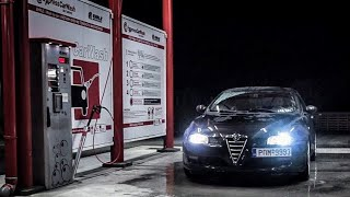 Alfa Romeo Gt - Night Scene