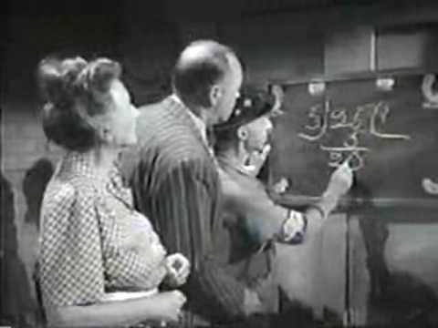 Fuzzy Math (funny Old Movie Clip) video