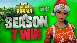 Season 7 | Random Squad Win | Fortnite | No Commentary