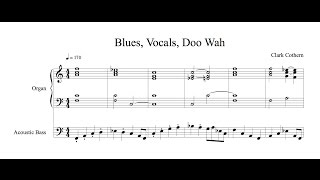 Blues Doo Wah - Four Versions - by Clark Cothern (1957 - ) [BMI]