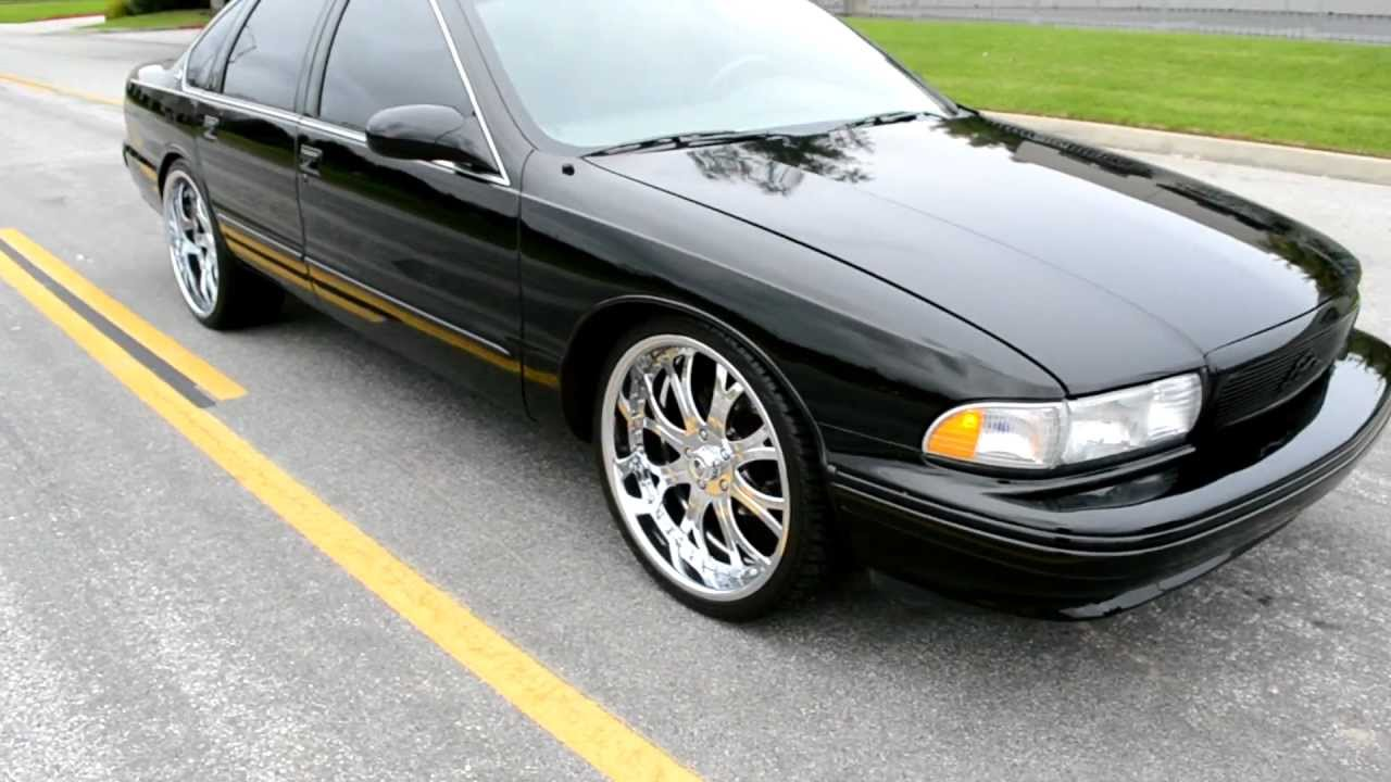 1996 Chevy Caprice For Sale 1996 IMPALA SS 28K MILES ASANTI WHEELS - YouTube