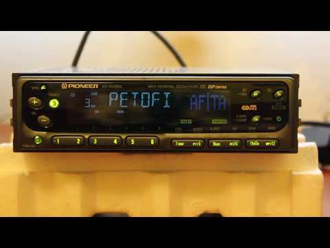 Pioneer KEH-P8200RDS cassette player with CDX-P25 CD changer