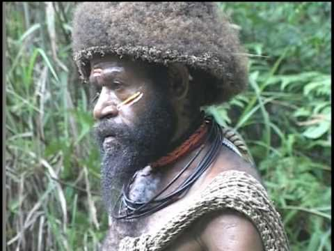 Wig School for the Huli Wigmen of Papua New Guinea