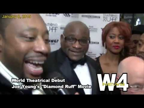 "W4 News - ""Diamond Ruff"" Movie - World Theatrical Debut - 1/8/2015"