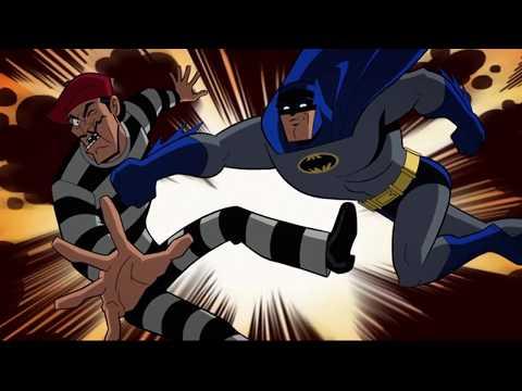 Бэтмен против пациентов Аркхэм