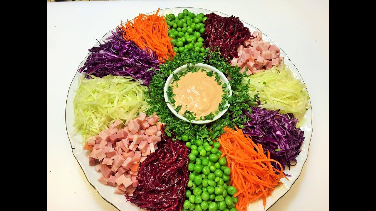 Салаты огород рецепты с простые и вкусные