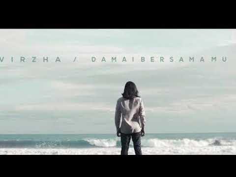 Download  Virzha - Damai Bersamamu  karaoke m-one tanpa vocal / instrument  male chord Gratis, download lagu terbaru