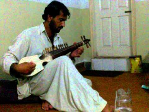pashto new song qarara rasha in rabab by zaman bunari
