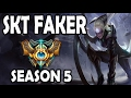 SKT T1 Faker Diana vs Twisted Fate MID Ranked Challenger Korea