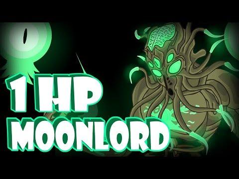 Moonlord БЕЗ получения урона!