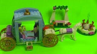 ❤Lego Disney Princess Cổ Xe Ngựa  Của Công Chúa Lọ Lem ❤Lego Cinderella Dream Carage