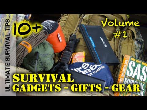 NEW! 10+ Survival Gifts, Gear +Crazy Gadgets in 7 Minutes - GEAR Blitz - VOLUME #1 - Best