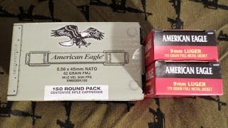 Dick's Coupon Ammo Sale~American Eagle 5.56 & 9mm