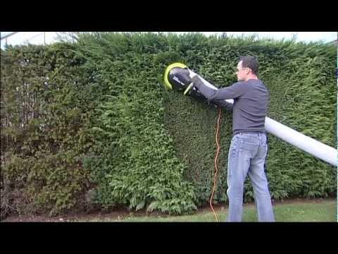 garden groom pro electric hedge trimmer ibowbow. Black Bedroom Furniture Sets. Home Design Ideas