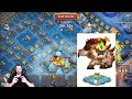 SASQUATCH SOLO ALL 5 BASES IN Guild Wars OVER POWERED Castle Clash