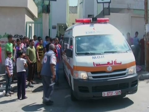 Strike Kills 10 Near UN School in Gaza