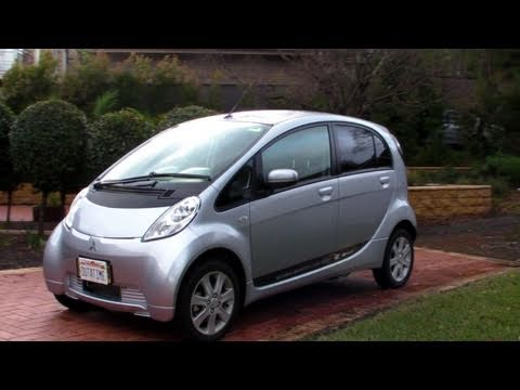 Mitsubishi iMiEV Electric Car Test Drive - EEVblog #179