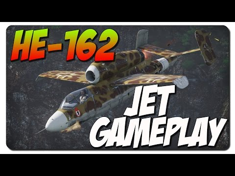 War Thunder - He-162 Jet Gameplay - Why War Thunder?!