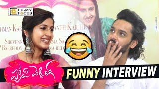 Niharika and Sumanth Ashwin Funny Interview about Happy Wedding Movie