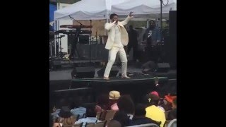 Eric Benet belts an incredible A5! (Sometimes I Cry live)