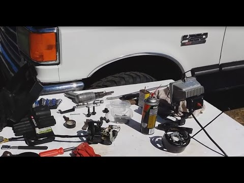 88 Ford F250 Steering Lock Actuator Removal. Steering Column Removal. Ignition Switch Replacement