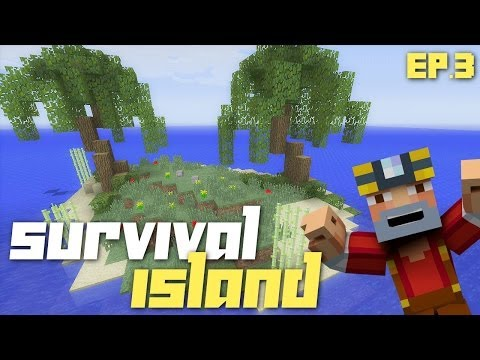 Minecraft Xbox 360: Hardcore Survival Island - Part 3! (Biggest Tree Ever!)