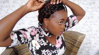 THREE DEFERENCE STYLES TO USE ON A BRAIDED HAIR