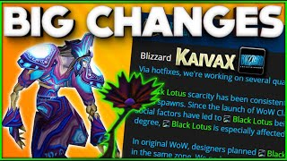 Classic WoW - Black Lotus & Warsong Gulch Changes