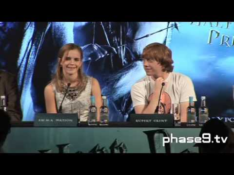 Harry Potter And The Half-Blood Prince - London Press Conference - Part 2 Of 10