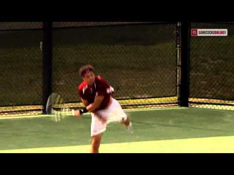 South carolina mens tennis vs college of charleston