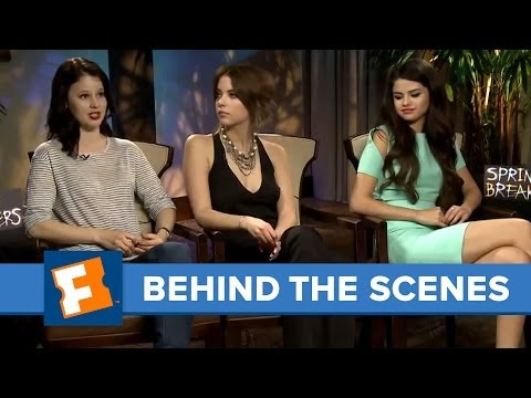 Spring Breakers: Exclusive Interview | Behind The Scenes | FandangoMovies