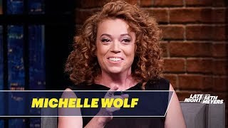 Michelle Wolf Isn't Mad About Joe Biden's Inappropriate Touching