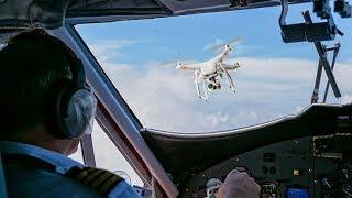 """Drones als nieuw gevaar voor piloten: """"Je bent machteloos"""""""
