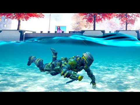 UNDERWATER MIKE MYERS HIDING! (Black Ops 3 Funny Moments)