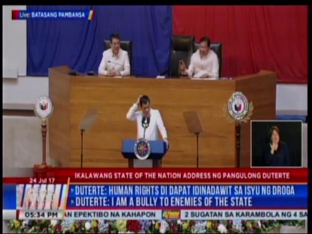 Duterte claims Joma Sison has colon cancer