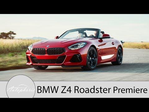 2019 BMW Z4 Roadster (G29): Weltpremiere für die BMW Z4 M40i First Edition [4K] - Autophorie