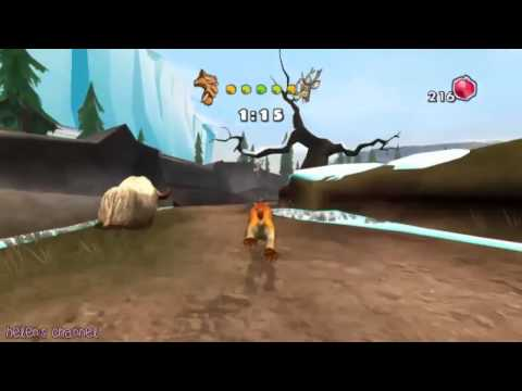 Ice Age 3 El Origen de los Dinosaurios   La persecucion de Diego   Walkthrough #6   PC GAME