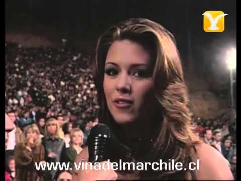 Backstage Alicia Machado (Miss Universo 1996), Festival de Viña 1999