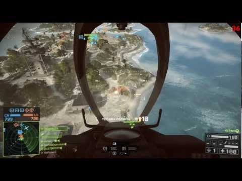 BF4 Jet Gameplay / 38-1 killlstreak Q-5 FANTAN / Paracel Stor / fps