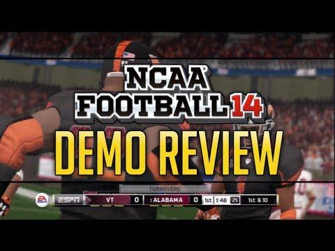 NCAA Football 14 Demo Review - Gameplay, Infinity Engine, Running Game