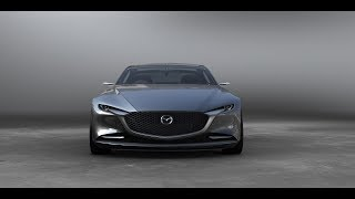 Mazda Vision Coupe Concept Sports Sedan-Interior and Exterior