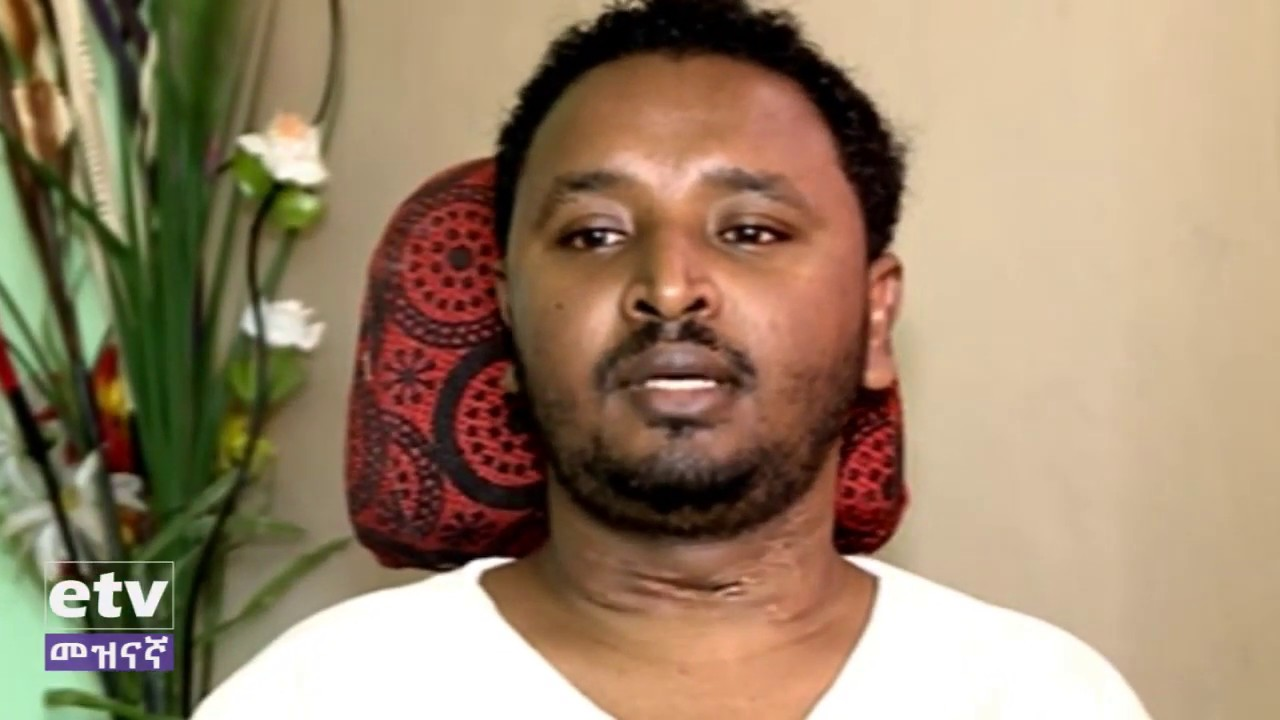 Interview with shooting survive lawyer Dagmwai Aseffa