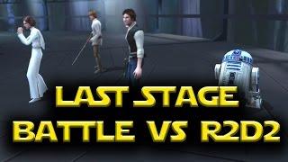 Star Wars: Galaxy Of Heroes - Last Stage Dark Side Battle VS R2D2 85 Unlocked