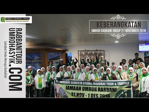 Video travel umroh rabbani bandung
