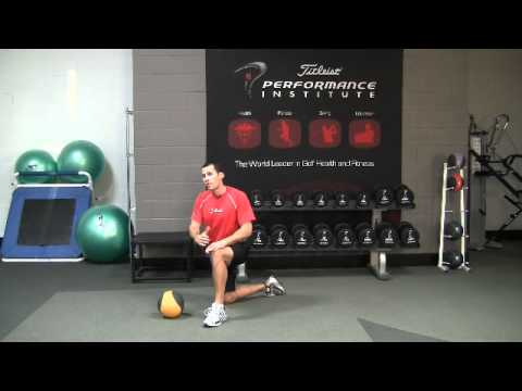 Golf Fitness Medicine Ball Power Exercise