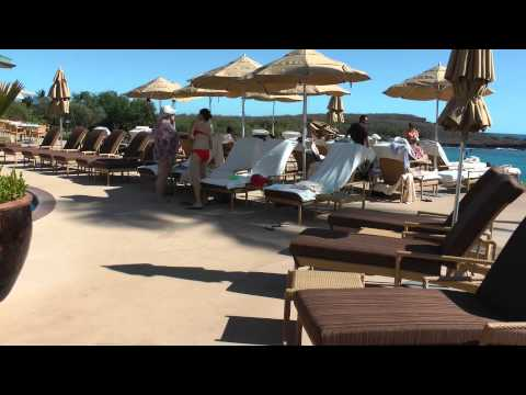 swimming pool Four Seasons Resort Lanai at Manele Bay, Lanai, Hawaii 1080p