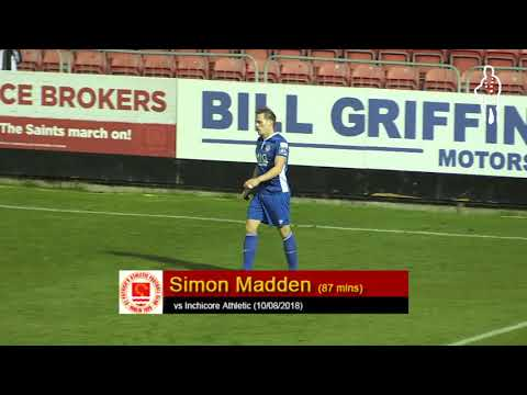 Goal: Simon Madden (vs Inchicore Athletic 10/08/2018)