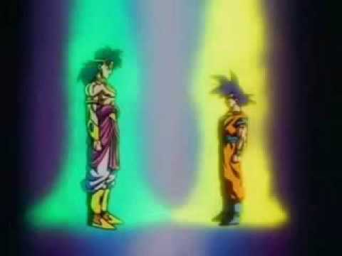 Goku Vs Broly Amv video